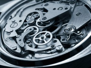 vintage watch machinery macro detail monochrome