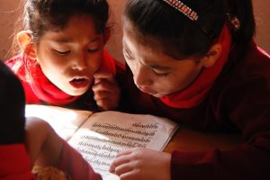 SMD Girls studying